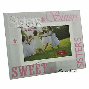 Image Is Loading Glass Photo Frame Sisters Birthday Gift Ideas For