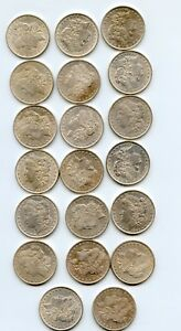 Roll-of-Silver-Morgan-Dollars-AU-UNC-20-coins-No-1921-039-s