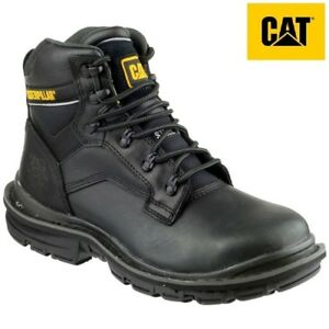 f8d64f4575b Details about Mens CAT Caterpillar GENERATOR S3 Safety Work Steel Toe Wide  Shoes Boots Sz 6-13
