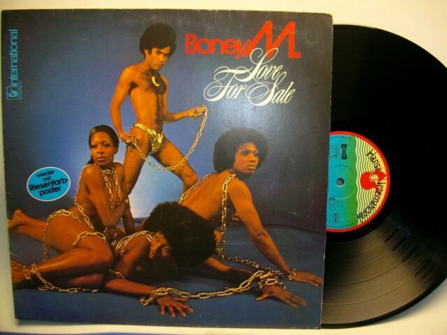BONEY M LOVE FOR SALE DISCO VINILO LP