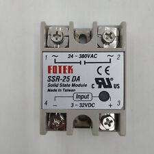 Solid State Relay Ssr 10da Input 3 32v Dc Output24 480v Ac Original