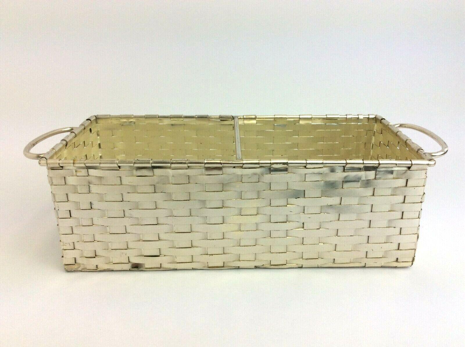 Gebraucht Hergestellt Portugal Gewebter Draht ZWeißGriff Silber Farbig Dekorativ