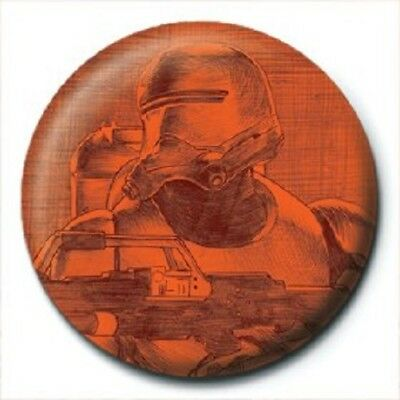 STAR WARS EPISODE VII trooper - BUTTON BADGE official licensed merchandise SW39