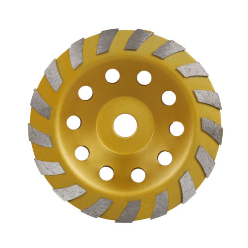 """7/"""" 180mm Diamond Grinding Wheel Cup Grinder Disc Tool for Concrete Wall Ground"""