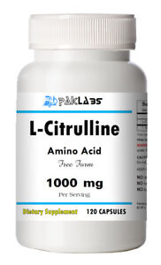 L-Citrulline-120-Capsules-Cardiovascular-Health-1000mg-High-Potency-Big-Bottle