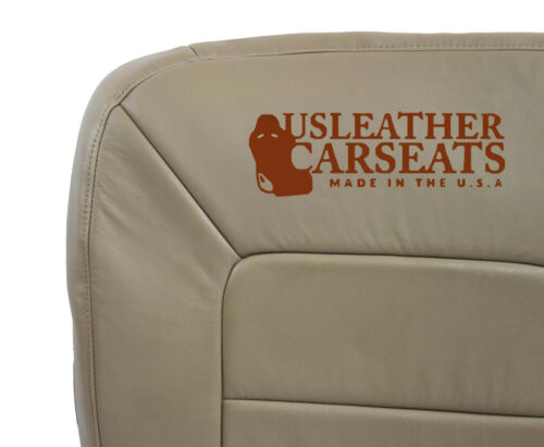 2006 Ford Expedition Limited XLS XLT Driver Side Bottom Leather Seat Cover Tan