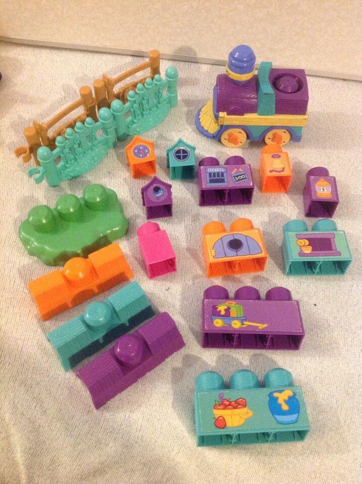 Andet legetøj, MEGA blocks, Peter plys