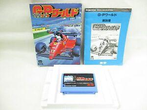 MSX-GP-WORLD-G-P-Item-ref-1504-Import-Japan-Video-Game-msx