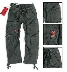 Brandit m-65 Vintage Décontracté Hommes Pantalon Dark Camo Fashion Outdoor