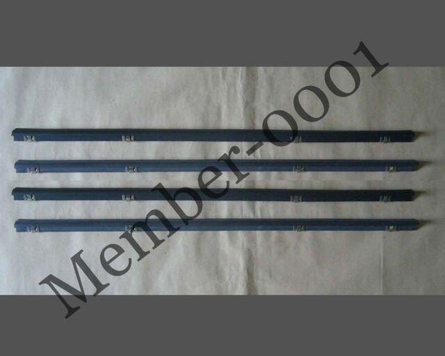 Window Door Belt Weatherstrip Rubber SET for Toyota Hilux LN30 RN30 40 46 Pickup