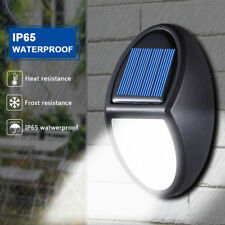 IP65 10 LED 600LM Waterproof Security Wall Light Solar Power Outdoor Patio Lamp