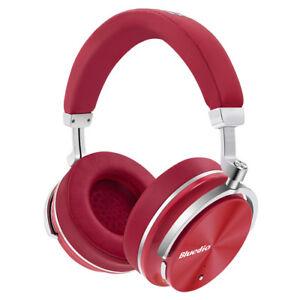 Bluedio-T4-Wireless-Bluetooth4-2-ANC-Headphone-Stereo-Mic-Adjustable-Headset-Red