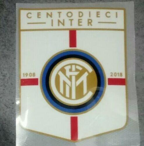 Toppa Patch Badge Calcio Inter 110 anni 2018