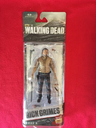 "the Walking Dead Rick Grimes TV Series 6 Figure 5/"" Action FIgure"