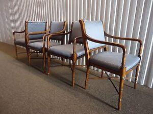 Attirant Image Is Loading Southwood Furniture Vintage Set Of Four Gorgeous Arm