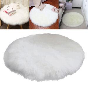 Schaffell lammfell teppich pastell kunstfell waschbar for Dekoration wohnzimmer ebay