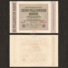 1923 UNC Germany Stuttgart 500 Milliarden Billion Mark P S1378