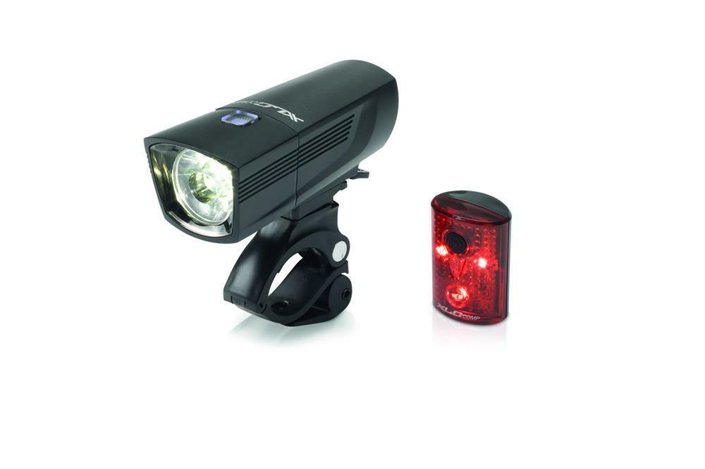 XLC Comp Francisco CLF18 40 Lux Vélo DEL Alliage Vélo Lux Head Light & Feu Arrière Set 35e88b