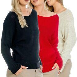 Madonna Damen Pullover Strick Pulli Sweatshirt