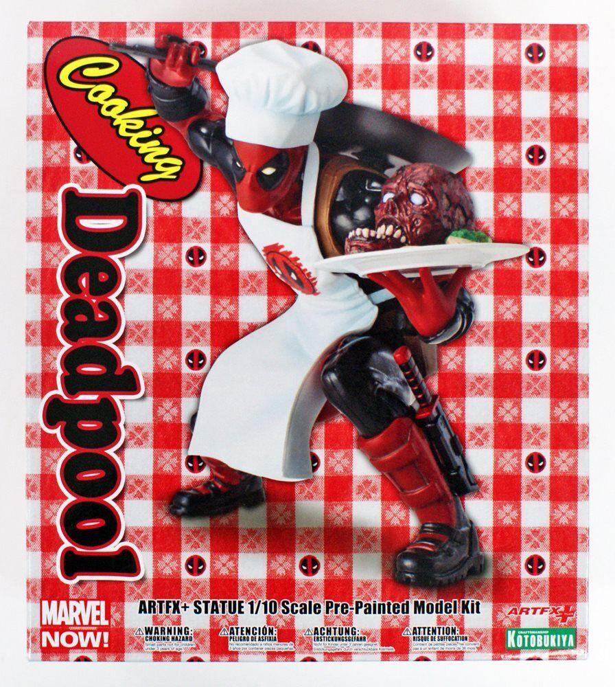 Marvel Universe Cooking Deadpool ARTFX+ Statue