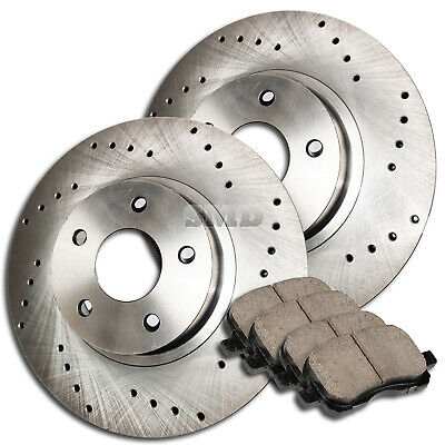 1998 1999 2000 2001 2002 Benz ML320 OE Replacement Rotors w//Ceramic Pads F