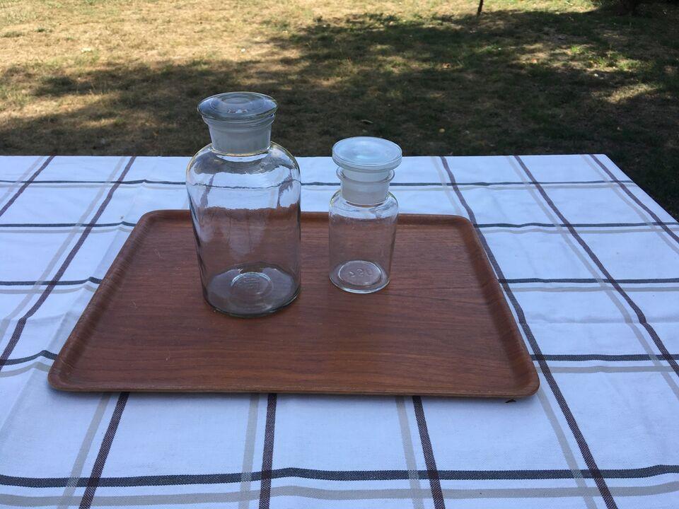 Glas, Medicin Flasker, Retro