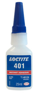 LOCTITE 401 Ultra Fast Instant Adhesive 25ml