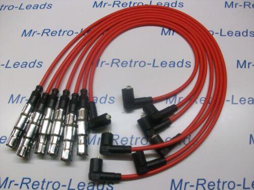 Rouge 7 mm Performance Ignition Leads VR6 CORRADO VR6 PASSAT OBD1 Qualité HT Leads