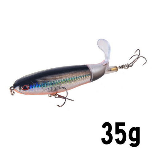 8 Colors Fishing Lure Topwater Floating Rotating Tail for Bass Fishing Wobblers