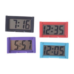 Auto-Digital-Car-Dashboard-LCD-Clock-Time-Date-Display-Self-Adhesive-Stick-On-Tt