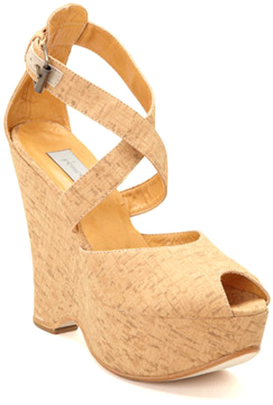 New Plomo Beige Maria shoes in Cork Cork Cork  wedge women's shoes size US 10 EUR 40 818560