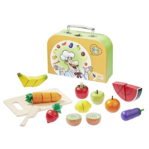 Howa schneideset fruits et légumes en bois dans la valise 4874