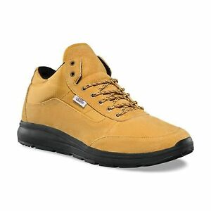 47c0c4f57b Vans Style 201 Black Sole Mineral Yellow Black Men s Skate Shoes ...
