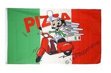 Fahne Flagge Pizza Italien - 90 x 150 cm Hissflagge
