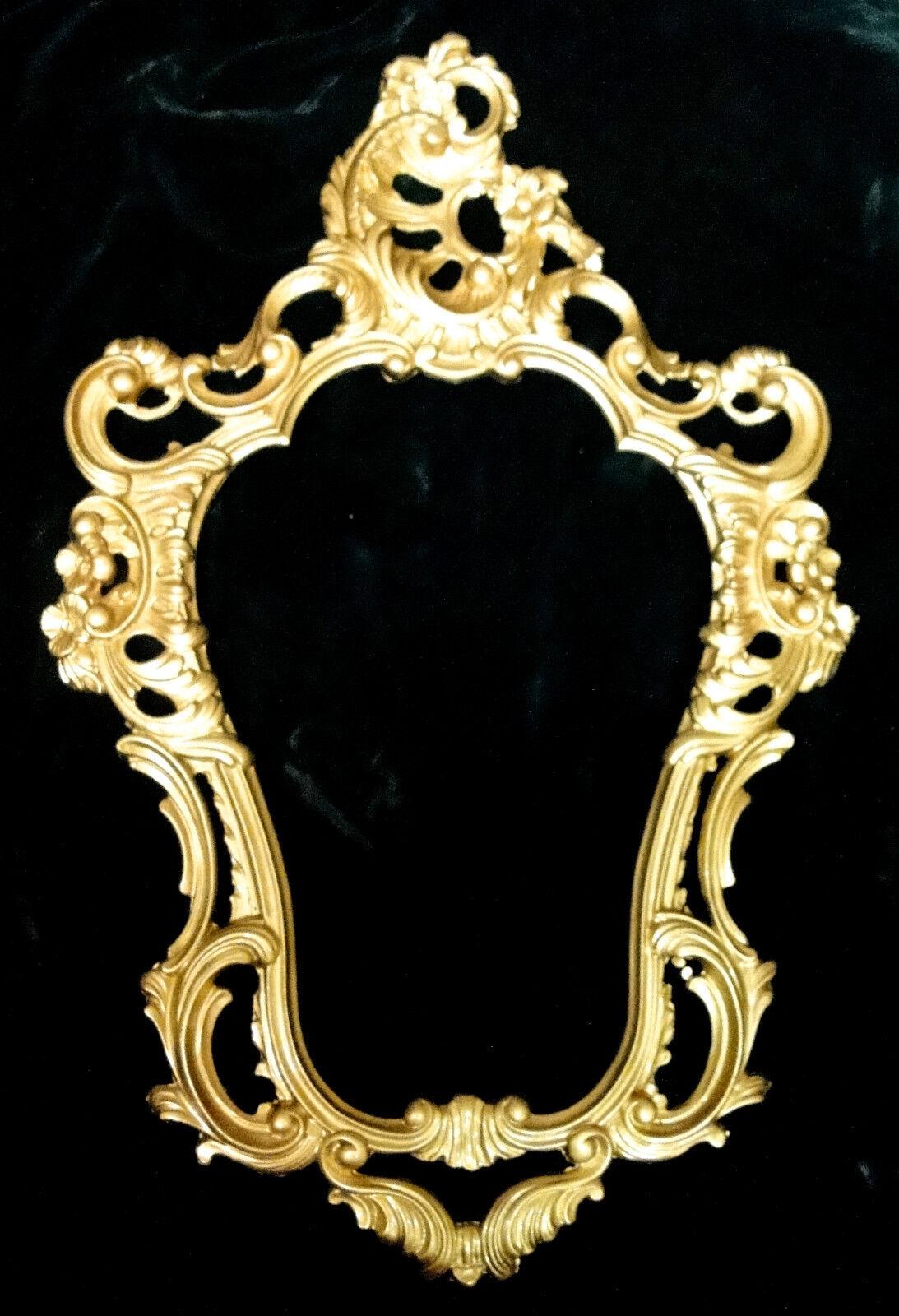 Rokoko Repro Miroir Mural or 50 X 76 Antique Baroque Décoration 118 4