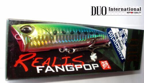 Duo Realis Fangpop 105 Popper Topwater Poper Leurre de Pêche,Ferme Amorce,Mer
