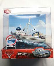 DISNEY PIXAR CARS 2 CRABBY DIE CAST WITH ROLLING BASE FACTORY SEALED BOX NIB!!