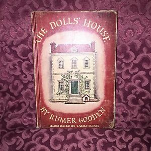 Vint Illustrator Tasha Tudor Dolls House 1st Ed 4th Printing Authur