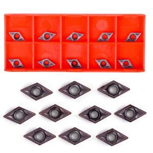 10 Stk DCMT0702 YBC205 Wendeplatten Wendeschneidplatte für Bohstange