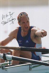 Steve Redgrave Hand Signed Olympics 12x8 Photo.