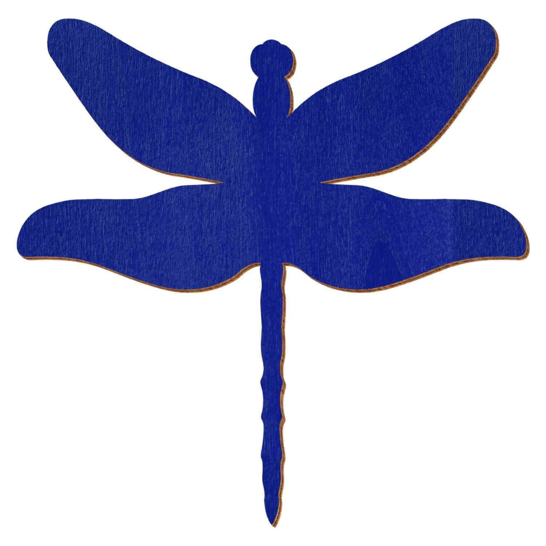 Blaue Holz Libelle - 3-50cm Flügelspannweite Streudeko Basteln Deko Tischdeko   Offizielle Webseite    Feinen Qualität
