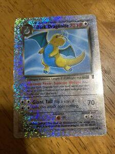 Dark Dragonite Reverse Holo 2002 Pokemon Legendary Collection 5/110