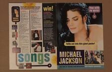 MICHAEL JACKSON Original Vintage TV Hits Magazine Postermag