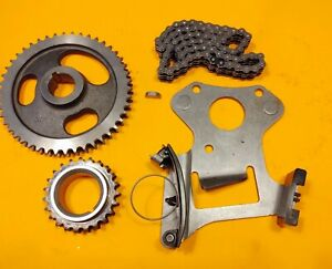 For-Mopars-318-340-360-273-TIMING-CHAIN-TENSIONER-ROLLER-CHAIN-SPROCKET-KIT