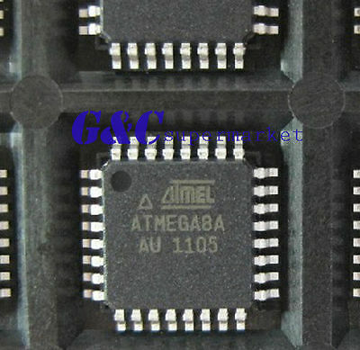 10PCS IC ATMEGA8A-AU TQFP-32  ATMEL NEW GOOD QUALITY