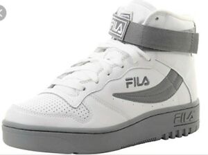 558d294dc16c Fila FX-100 Mens Sneakers. Old School White And Grey. 1VB90179 101 ...