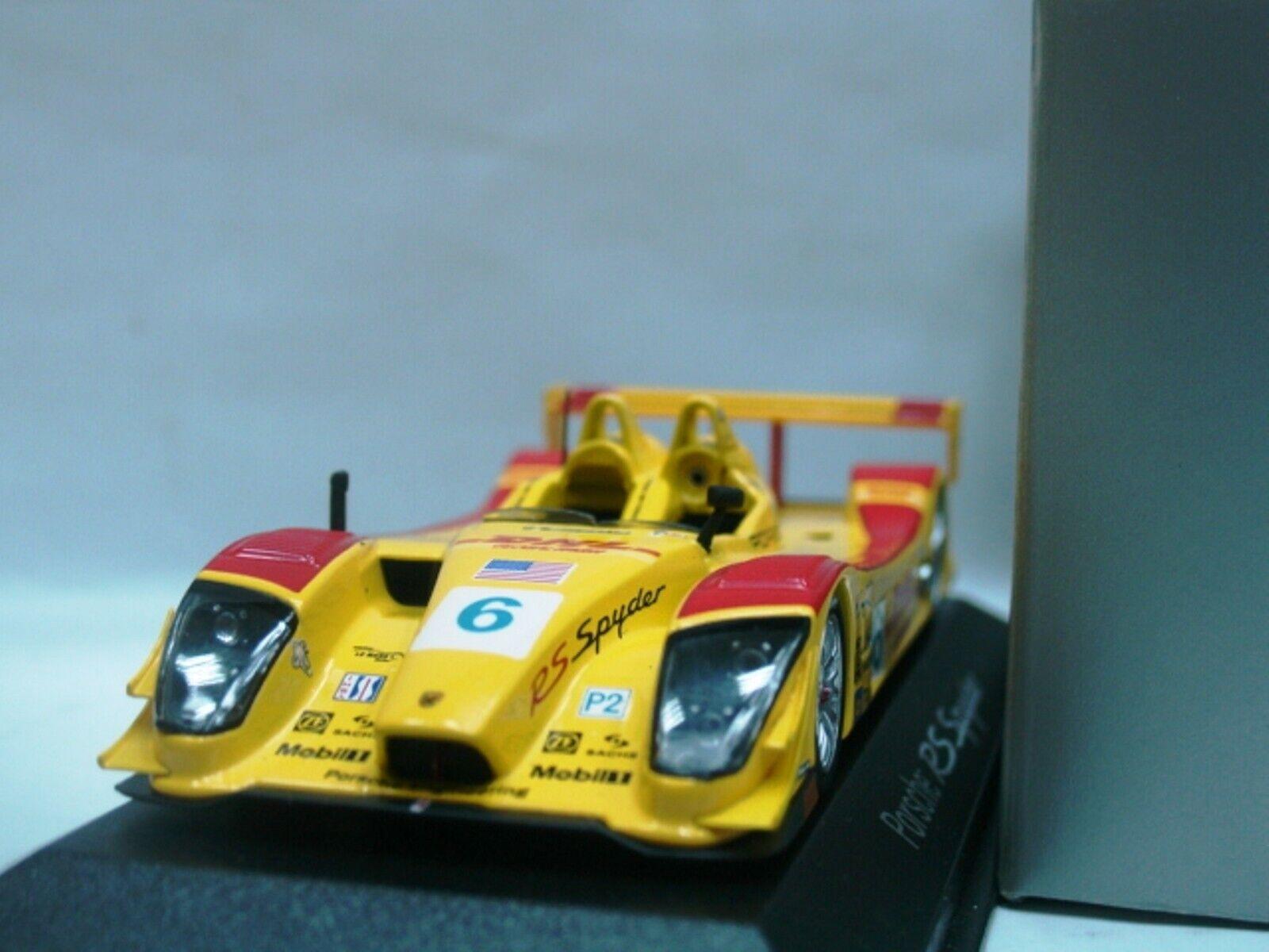 Wow extremadonnate raro Porsche RS Spyder ganador Utah 2006 1 43 Minichamps-Spark