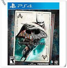 PS4 Batman: Return to Arkham SONY Action Adventure Warner Home Video
