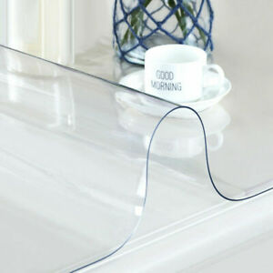 Waterproof-Clear-Plastic-Transparent-PVC-Tablecloth-Protector-Dining-Table-Cover