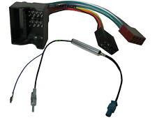 VW Seat Skoda Audi Quadlock ISO Adapter Antenne Fakra ISO Phantom Stecker